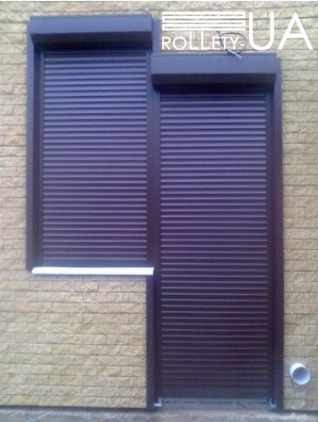 роллеты на двери фото