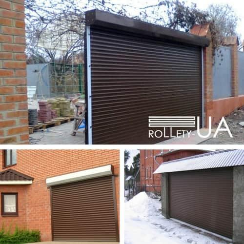 Гаражні ролетні ворота в Запоріжжі виробництво Rollety-UA