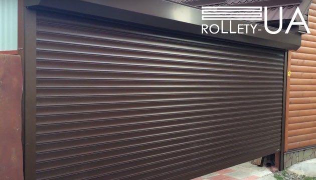 Роллеты на гараж механические в Херсоне