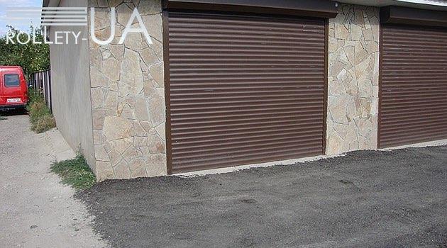роллетные ворота Житомир фото