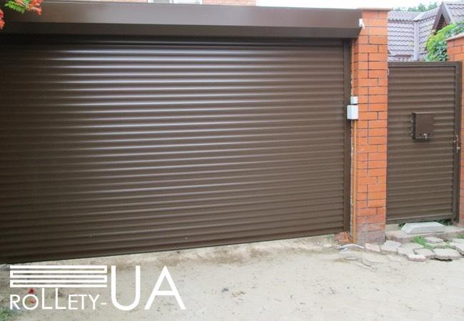 Роллетные ворота в Днепре от производителя Rollety-UA