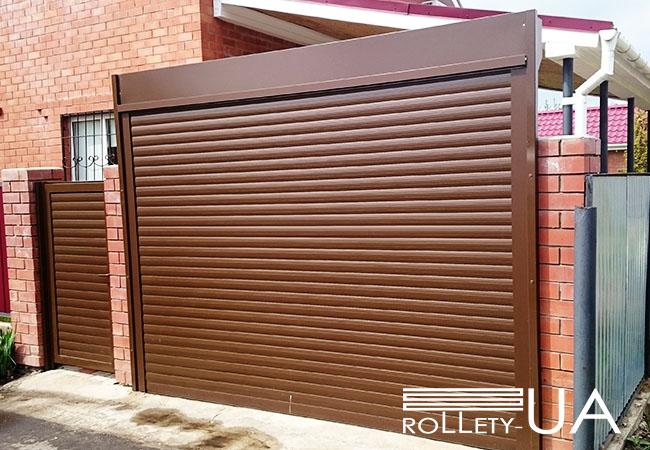 Гаражні ворота в Запоріжжі від виробника Rollety-UA