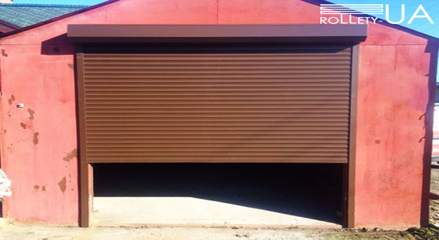 Гаражні ворота Одеса від виробника Rollety-UA