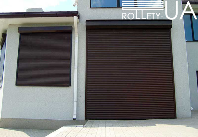 Гаражні ворота в Полтаві від виробника Rollety-UA