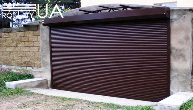 Гаражные ворота Днепр Rollety-UA фото