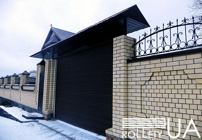 Купить роллетные ворота в городе Полтава от производителя Rollety-UA