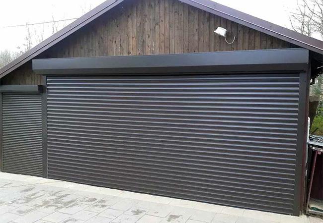 Выбираем ворота для гаража в 2021 году. Особенности конструкции роллет для гараж